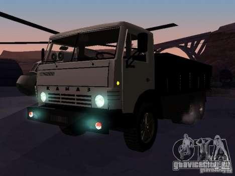 КАМАЗ 53212 бортовой для GTA San Andreas