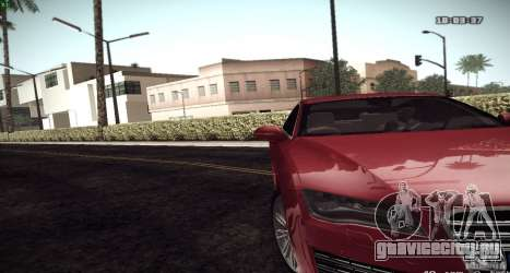 ENB Graphics Mod Samp Edition для GTA San Andreas третий скриншот