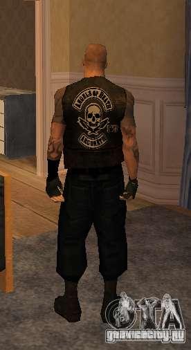 Новые скины Байкеров для GTA San Andreas шестой скриншот