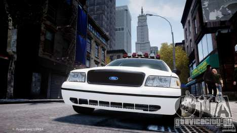 Ford Crown Victoria New Jersey State Police для GTA 4 колёса