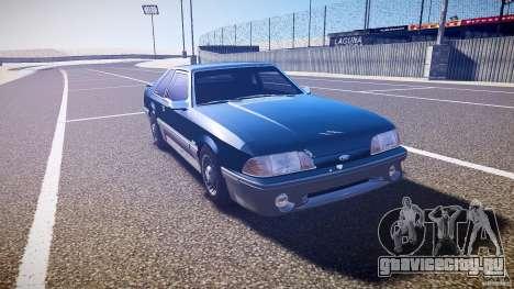Ford Mustang GT 1993 Rims 1 для GTA 4 вид сзади