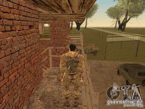 Дегтярев из Сталкера для GTA San Andreas четвёртый скриншот