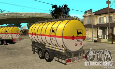 Trailer Tunk для GTA San Andreas вид сзади слева