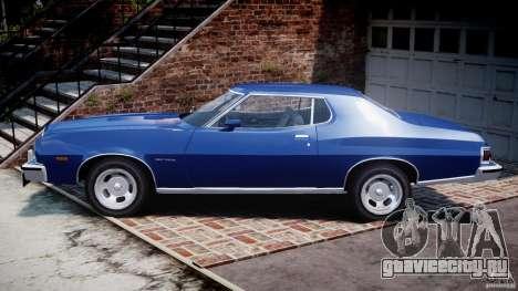 Ford Gran Torino 1975 для GTA 4 вид слева
