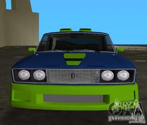ВАЗ 2106 Tuning v3.0 для GTA Vice City вид слева
