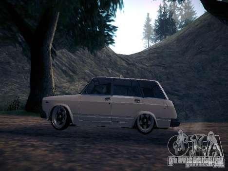 Ваз 2104 Пневмо для GTA San Andreas вид слева