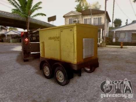 Trailer Generator для GTA San Andreas вид изнутри