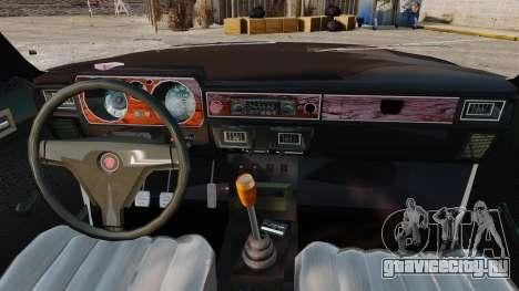 ГАЗ-3102 для GTA 4 вид изнутри
