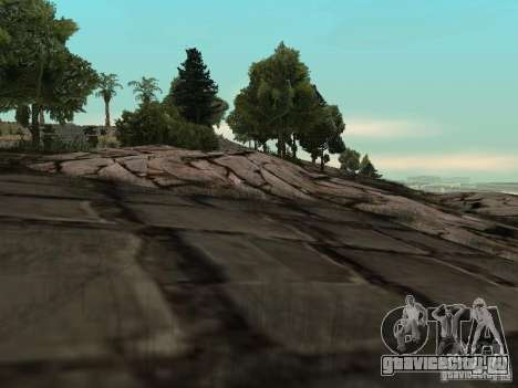 Каменная гора для GTA San Andreas второй скриншот