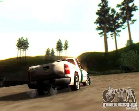 Chevrolet Silverado Police для GTA San Andreas колёса