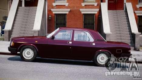 ГАЗ 3110 Волга для GTA 4 вид слева
