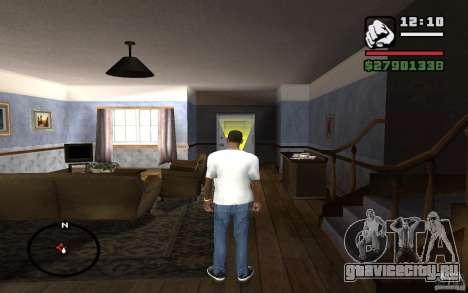 Узкие джинсы для GTA San Andreas третий скриншот