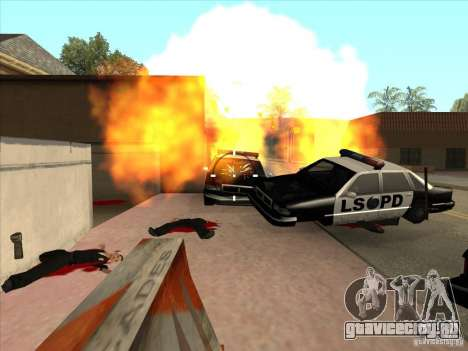 CLEO скрипт: Пулемёт в GTA San Andreas для GTA San Andreas