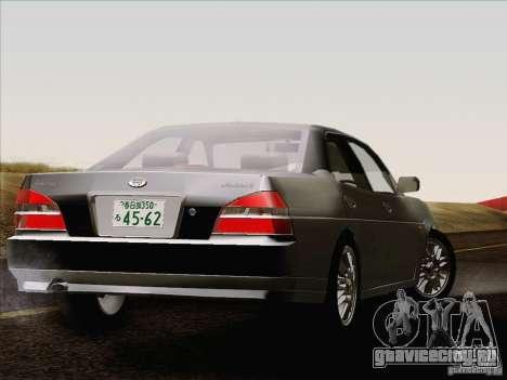 Nissan Laurel GC35 Kouki Unmarked Police Car для GTA San Andreas вид сзади слева