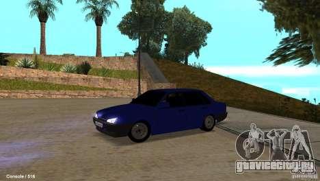 BАЗ 21099 для GTA San Andreas вид слева