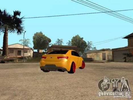 Kia Cerato Coupe JDM для GTA San Andreas вид слева