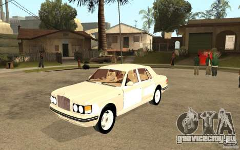Bentley Turbo RT для GTA San Andreas