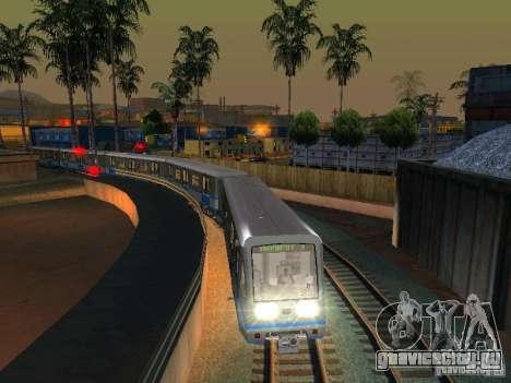 Новый Cигнал Поезда для GTA San Andreas четвёртый скриншот