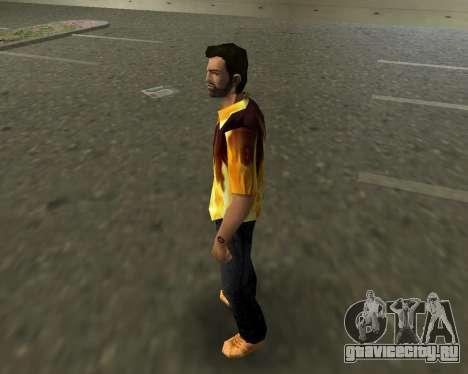 Рубашка с огнем для GTA Vice City второй скриншот