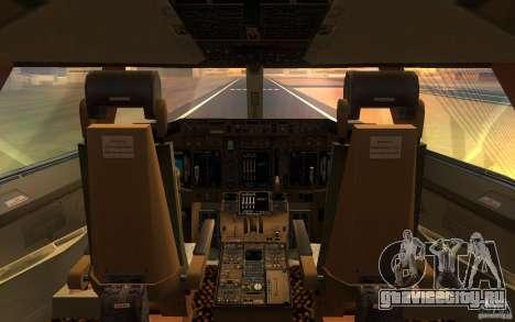 Boeing-747 Corsair Fly для GTA San Andreas вид справа