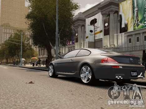 BMW M6 2010 для GTA 4 вид справа
