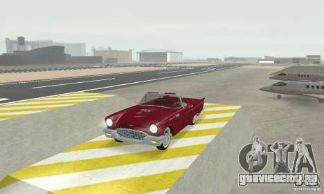 Ford Thunderbird 1957 для GTA San Andreas вид слева