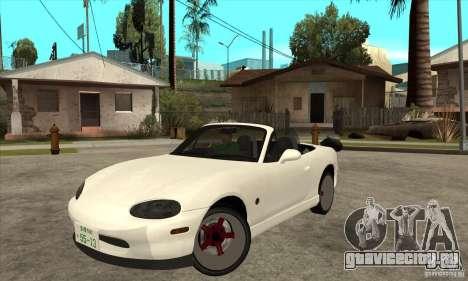 Mazda MX-5 JDM Convertible для GTA San Andreas