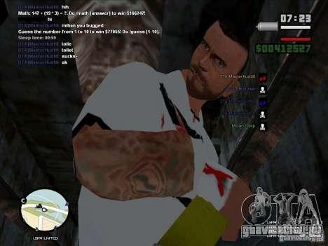 CM PUNK 2011 attaer для GTA San Andreas второй скриншот