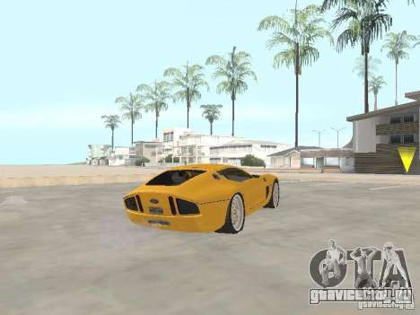 Ford Shelby GR1 для GTA San Andreas вид сзади слева
