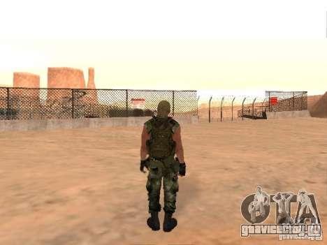 Российский Спецназовец для GTA San Andreas четвёртый скриншот