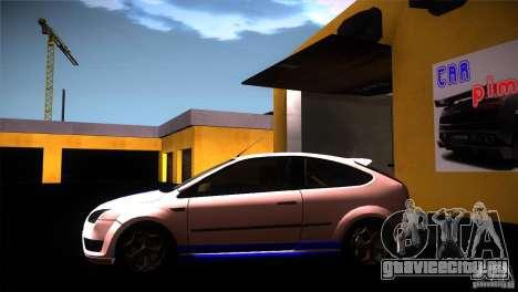 Ford Focus 2 Coupe для GTA San Andreas вид слева