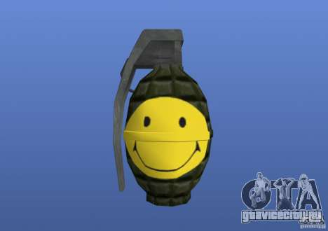 Smiley Granate для GTA 4