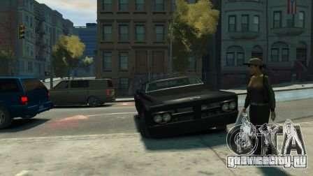 Slamvan для GTA 4 вид сзади