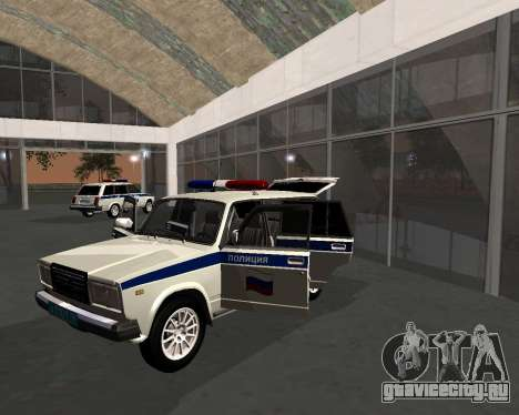 ВАЗ 21047 Полиция для GTA San Andreas