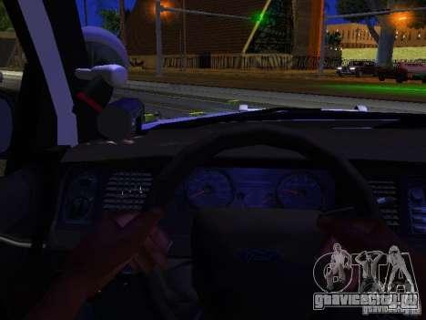 Ford Crown Victoria Police Patrol для GTA San Andreas вид сбоку
