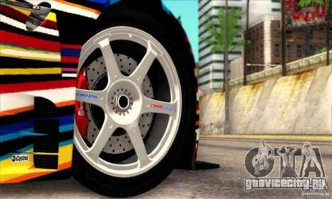 BMW M3 GT2 для GTA San Andreas вид справа