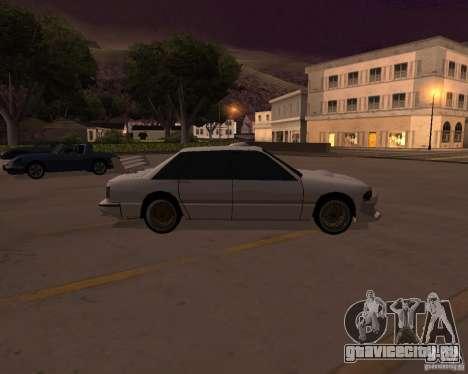 Taxi для GTA San Andreas вид слева
