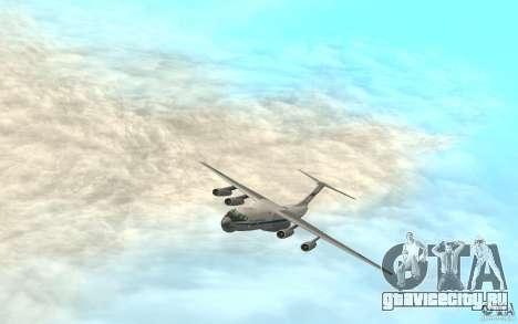 ИЛ-76 для GTA San Andreas вид сзади слева