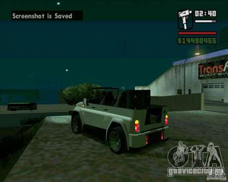 УАЗ 469 Tuning для GTA San Andreas вид слева