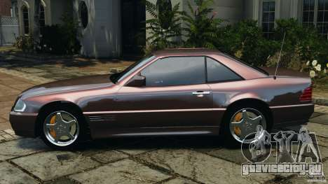 Mercedes-Benz SL 500 AMG 1995 [Final] для GTA 4 вид слева