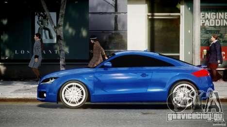 Audi TT RS Coupe v1.0 для GTA 4 вид слева