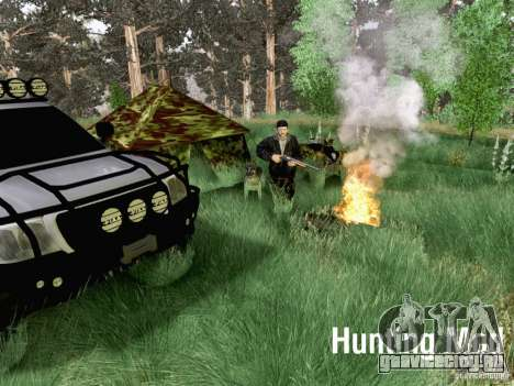 Hunting Mod для GTA San Andreas