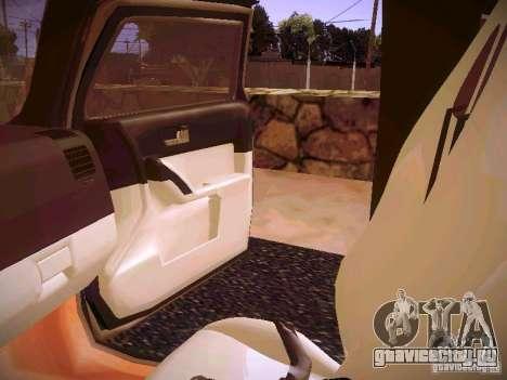 Hummer H3R для GTA San Andreas вид сбоку