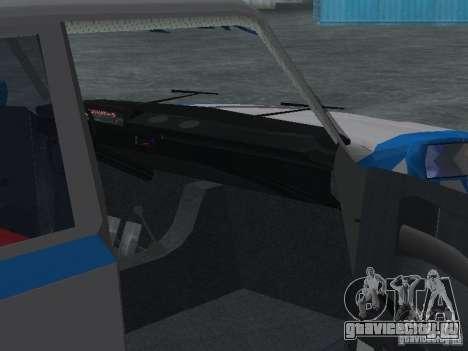 ВАЗ 2101 Моряк для GTA San Andreas вид изнутри