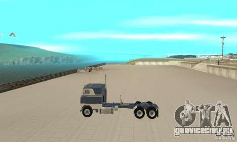 White Freightliner Extended Wheel Base для GTA San Andreas