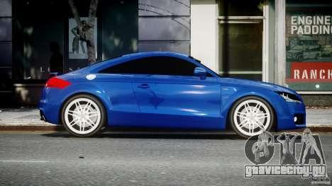 Audi TT RS Coupe v1.0 для GTA 4 вид изнутри
