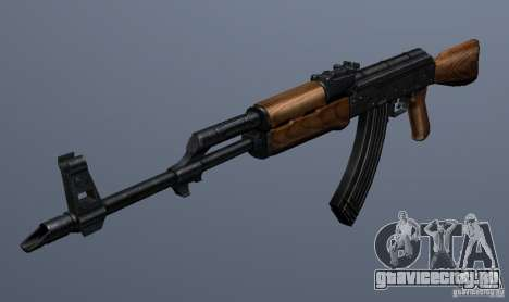 AKM - the more accurate version для GTA San Andreas