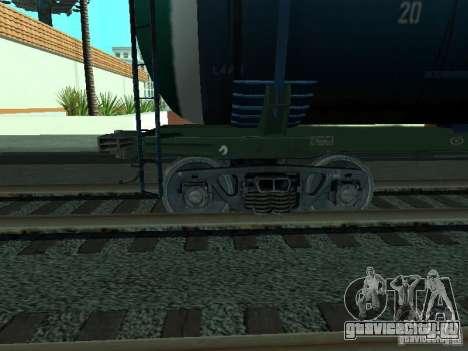 Вагон цистерна для GTA San Andreas вид справа