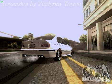 BMW E39 M5 2004 для GTA San Andreas вид справа