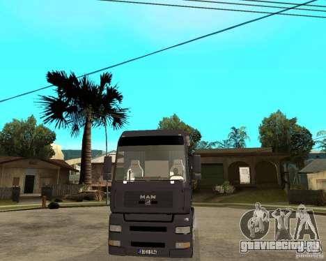 Man TGA для GTA San Andreas вид сзади